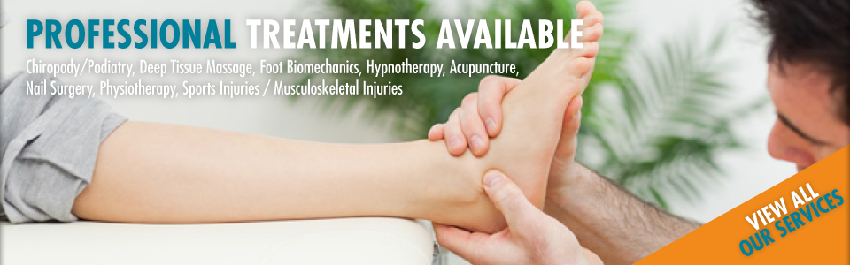 Professional Treatments Available