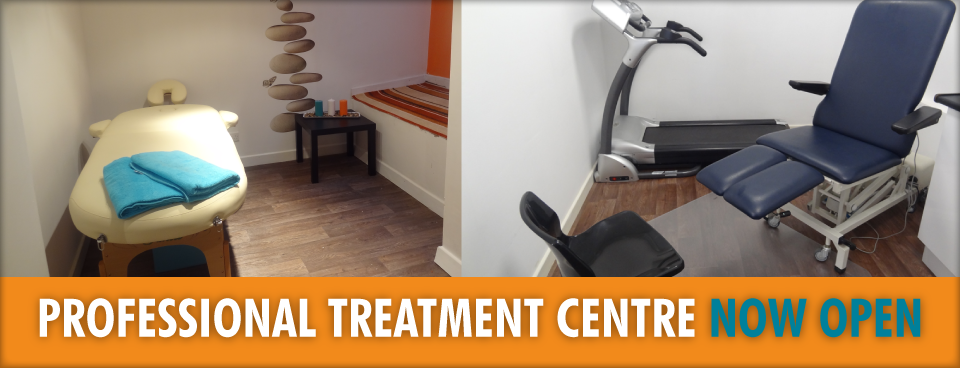 Treatment Centre Now Open Banner